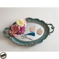 Engagement Ring Platter, Engagement Rings, Engagement Decorations, Wedding Decorations, Wedding Favors, Wedding Venues, Ribbon Work, Baby Art, Bridal Accessories