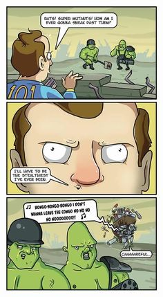 Sneaking In Fallout...