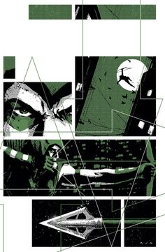 superheroes-or-whatever:    Green Arrow (2010-2011) #12 cover by David Aja.