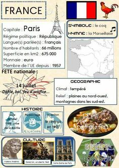 Learn French Videos Tips Student Learn French Videos Animals Teaching French, France For Kids, French Education, World Thinking Day, French Grammar, Core French, French Phrases, French Classroom, Geography
