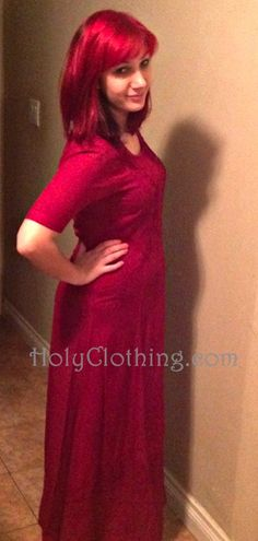 Contest Winner Margaux looks beautiful in her CATRIONA dress
