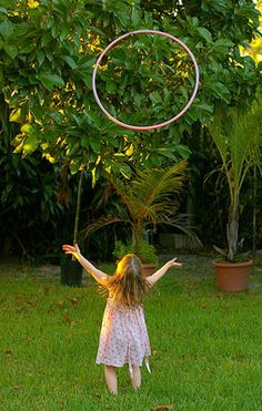 Get Outdoors: 6 Things To Do With a Hula Hoop