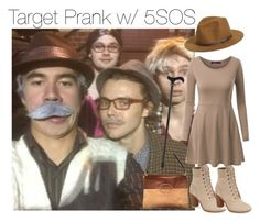 """""""Target Prank With 5SOS!"""" by straightoutof94 ❤ liked on Polyvore featuring Sole Society, Doublju, Timberland and Roger Vivier"""