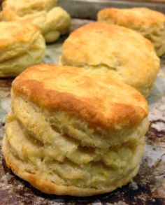 Southern Buttermilk Biscuits   These biscuits were exceptional: tender and moist.