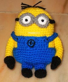 free despicable me minion crochet pattern