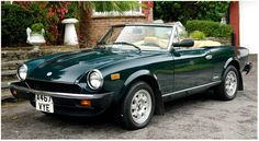 1982 Fiat Spider - the car I learned to drive in...sure wish I still had it! zoooom