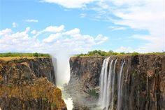 Jared Bombaci's shot of Victoria Falls in Zimbabwe.