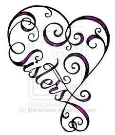 sister tattoo designs - Yahoo Image Search Results