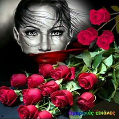 Red roses for you Mironna show Some Love Red Images, Bing Images, Gifs, Gif Photo, Black Image, Flower Quotes, Artist Names, Photomontage, Red Roses