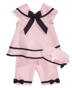 Infant Girls Best Beginnings $28 3PC Top /& Leggings Sizes 3Mt-6Mt Sweater Vest