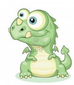 Illustration about Cute cartoon dragon isolated .Vector Illustration of draw, cheerful, positive - 23299771 Cartoon Dragon, Cartoon Dinosaur, Tattoo Painting, Mythical Dragons, Dinosaur Images, Cute Dragons, House Mouse, Cute Tattoos, Mythical Creatures