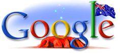 Google Doodle: Australia Day 2005