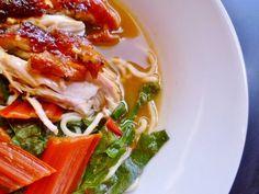 Marmaduke Scarlet: hallelujah! nigel slater's chicken pho soup and bit of a roast chicken revelation!
