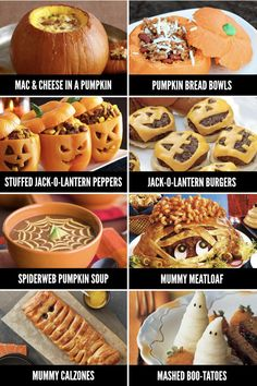 Fun Halloween Food Ideas for Every Meal - From The Dating Divas - - We've rounded up 50 fun Halloween foods including Halloween food ideas for breakfast, lunch, dinner, snacks, AND dessert! Halloween Party Snacks, Disfarces Halloween, Entree Halloween, Dessert Halloween, Hallowen Food, Hallowen Ideas, Adornos Halloween, Halloween Treats For Kids, Halloween Appetizers