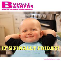 We don't have to tell you what day it is! Enjoy that awesome Friday feeling, everyone.