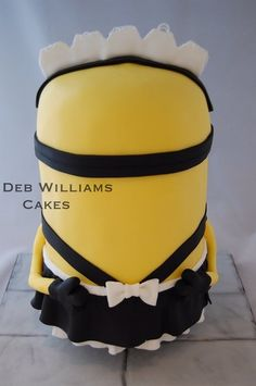 Despicable Me 2 - Minion Phil - by Deb Williams @ CakesDecor.com - cake decorating website