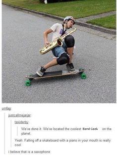 WHATT!! You mean it's not a tuba?!? Lol
