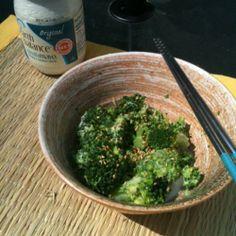 Sesame Broccoli Salad   Made Just Right by Earth Balance #vegan #earthbalance