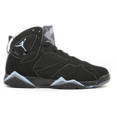 cheap for discount 64f4e bed4c Air Jordan 7 (VII) Retro black chambray-lt graphite ❤ liked on