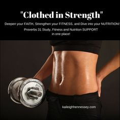 You will grow your faith, you will shrink your waist, and you will gain knowledge to create a new lifestyle! #fitness #proverbs31 #lifestyle