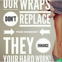 .You have been working so hard to lose those pounds and tighten up that body, you can enhance all of your hard work with WRAPS. www.wrapwiththebuchters.myitworks.com