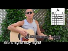 Easy - Silent Night with Lyrics/Chords Acoustic Performance - Christmas Play Along Cover