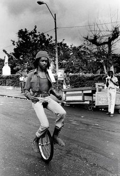 Peter Tosh - a key member of Bob Marley's Wailers. He had a big solo career as well as being a promoter of Rastafari.