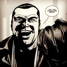 The Walking Dead Appears To Be Casting Negan For Season 6 Finale Walking Dead Show, Walking Dead Comics, Fear The Walking Dead, Comic Book Characters, Comic Books, Comic Art, Twd Comics, Dead Pictures, Talking To The Dead