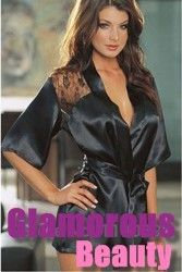 Lingerie - Best Selling Black Satin Sexy Lingerie Robe Costume Free Shipping Worldwide Price : RM 77.16 / USD 23.90  Promo Price: RM 32.25 / USD 9.99 Model : AB-1822-SKU Colour : Black Size : S, M, L Product Style : Sexy Robe Costume Quantity : 1 Set Material : Cotton, Silk Package : 1 Robe + 1 Belt Buy now from www.GlamorousBeauty.club
