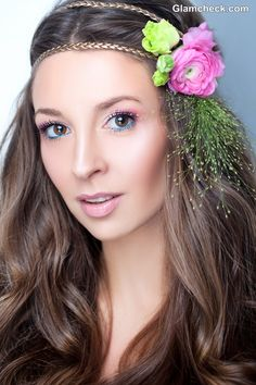 Flower Hair accessories Boho