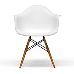 Retro-classic White Accent Chairs (Set of 2); so maybe not the real thing, but still lovely