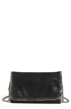 Stella McCartney 'Falabella' Shaggy Deer Crossbody Bag