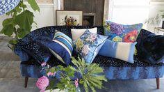 Designers Guild Indigo cushions for AW13