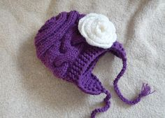 Kids Hat Baby Girl Hat Newborn Hat Photo Prop Baby Hat by Ifonka