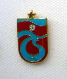 Trabzonspor of Turkey, and their elegantly flowing insignia.