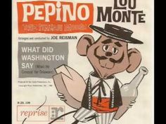 Lou Monte - Pepino, the Italian Mouse  Love this guy! Born and raised on his music<3