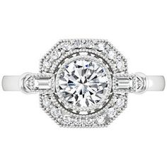 18K White Gold Ostara Diamond Ring (1/4 ct. tw.) #BrilliantEarth #BelleEpoque