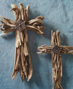 Driftwood cross                                                                                                                                                                                 More