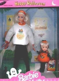 Happy Halloween, Barbie & Kelly
