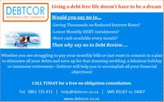 Why say no to Debt Review...? Debt Free, Priorities, Counseling, How To Get, Sayings, Life, Lyrics, Therapy, Quotations