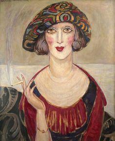 Kobieta. Gerda Wegener.