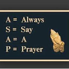 ASAP Prayer Work!