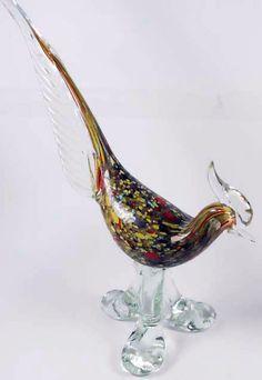 Murano - Vintage - Statuette 'Perdrix'