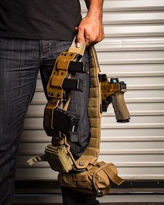 #griffonindustries Padded Rigger's Belt is available in both black and coyote brown and are now live on the site.