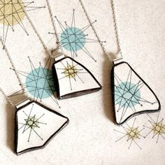 Custom Broken Plate Pendants on Chains from YOUR by TheBrokenPlate, $120.00