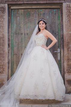 Vestidos de novia corte princesa mexico