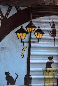 Prendre son temps cat street art