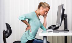 femme qui a mal au dos