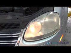 Headlight Bulb Replacement 2005-2010 Volkswagen Jetta - YouTube