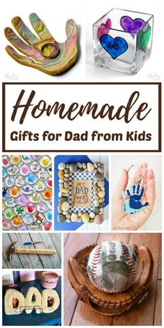 diy birthday gifts for dad Homemade Gifts for Dad - Celebrate Fathers Day with these easy, handmade gifts for dad amp; Kids will have fun deciding which craft to create. Diy Birthday Gifts For Dad, Homemade Fathers Day Gifts, Easy Homemade Gifts, Diy Gifts For Dad, Diy Father's Day Gifts, Christmas Gift For Dad, Father's Day Diy, Daddy Gifts, Handmade Christmas Gifts From Children